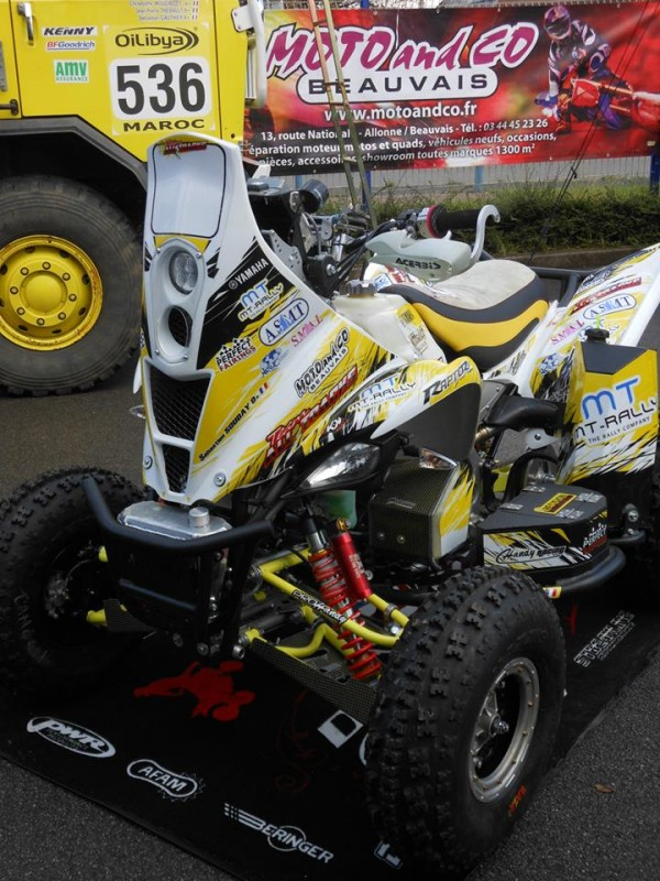 Yamaha Raptor Rally Fairing